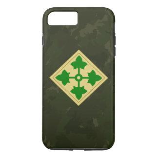 """4ème Division d'infanterie Division"""" Camo foncé Coque iPhone 7 Plus"""