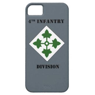 4ème Division d'infanterie W/Text iPhone 5 Case