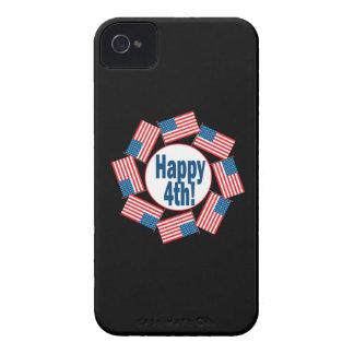4ème heureux coques Case-Mate iPhone 4