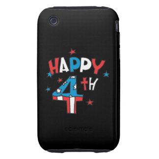 4ème heureux coques tough iPhone 3