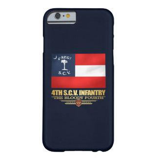 4ème Infanterie de la Caroline du Sud Coque iPhone 6 Barely There