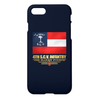 4ème Infanterie de la Caroline du Sud Coque iPhone 7