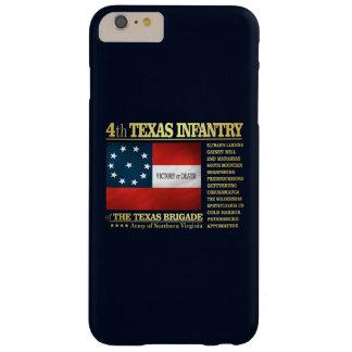 4ème Infanterie du Texas (BA2) Coque Barely There iPhone 6 Plus