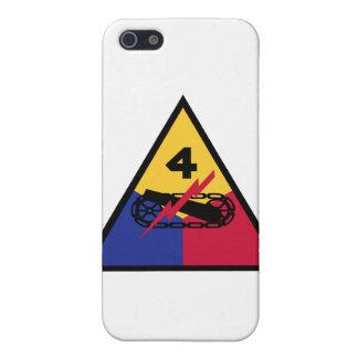 4ème Insignes de Division blindée Étuis iPhone 5