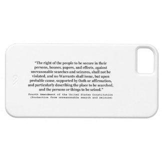 4ème Modification de la constitution d'Etats-Unis Coque iPhone 5