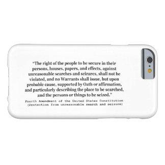 4ème Modification de la constitution d'Etats-Unis Coque Barely There iPhone 6