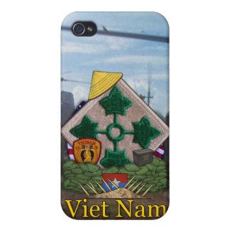 4ème nam i du Vietnam de division d'infanterie Étuis iPhone 4