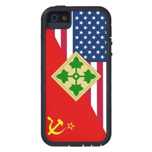 """4ème Plan de peinture """"de guerre froide"""" de Étui iPhone 5"""