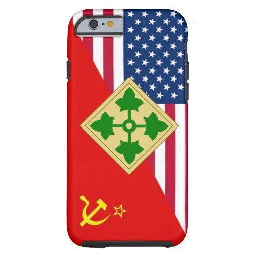 """4ème Plan de peinture """"de guerre froide"""" de Coque iPhone 6 Tough"""