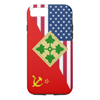 "4ème Plan de peinture ""de guerre froide"" de Coque iPhone 7"