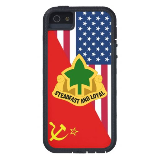 """4ème Plan de peinture """"de guerre froide"""" de DUI de Coque iPhone 5 Case-Mate"""