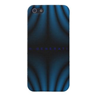 4ème Plis de lumière de génération - bleu Coque iPhone 5
