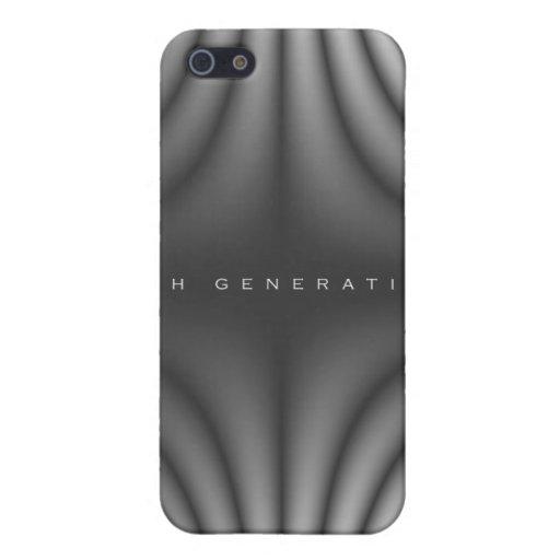 4ème Plis de lumière de génération - gris Étuis iPhone 5