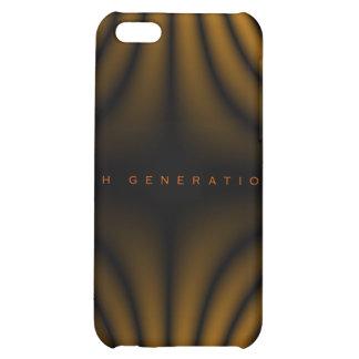 4ème Plis de lumière de génération - orange Étuis iPhone 5C