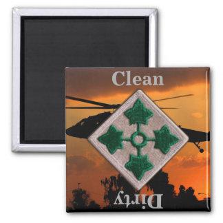 4ème Vétérinaires de guerre du Vietnam Irak de Aimant