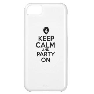 4èmes conceptions an d'anniversaire coque pour iPhone 5C
