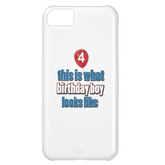 4èmes conceptions an d'anniversaire coque iPhone 5C