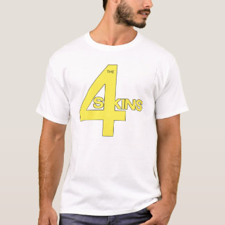 4Skins  One Law For Them logo T-Shirt