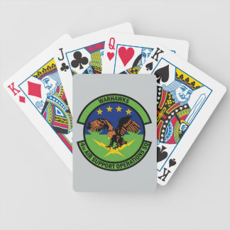 4th Air Support Operations Squadron - Warhawks Poker Deck