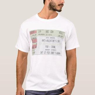 4th Annual Anti-Valentines Day Pub Crawl T-Shirt