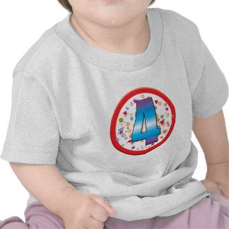 4th Birthday v2 Tee Shirts