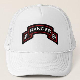 4th Bn, 75th Ranger Regiment - Airborne scroll Trucker Hat