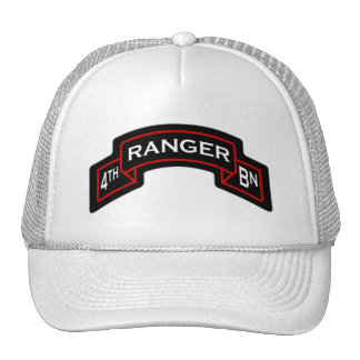4th Bn, 75th Ranger Regiment - Airborne scroll Trucker Hat