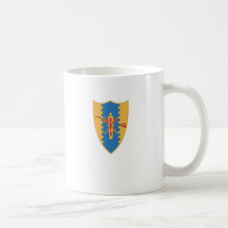 4th Cavalry crest with crossed sabers Coffee Mug