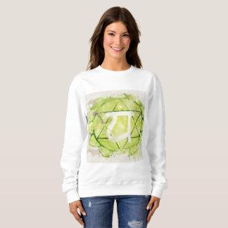 4th Chakra Heart Anahata Green Sweatshirt