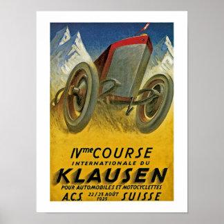 4th Course Internationale du Klausen Poster