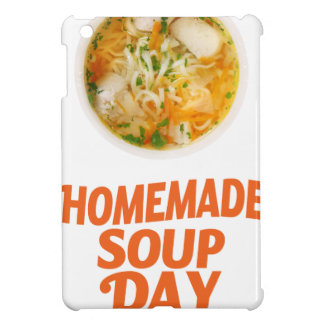 4th February - Homemade Soup Day Cover For The iPad Mini
