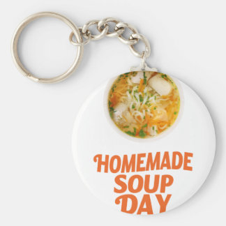 4th February - Homemade Soup Day Keychain