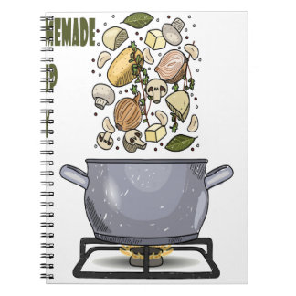 4th February - Homemade Soup Day Notebooks