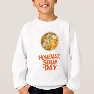 4th February - Homemade Soup Day Sweatshirt