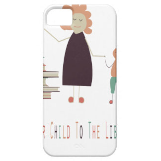 4th February - Take Your Child To The Library Day iPhone 5 Case