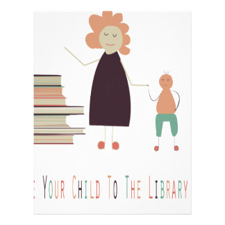 4th February - Take Your Child To The Library Day Letterhead