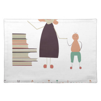 4th February - Take Your Child To The Library Day Placemat
