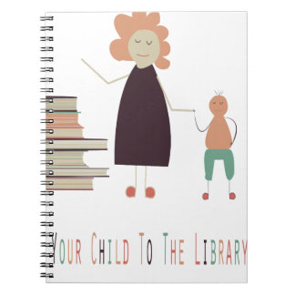 4th February - Take Your Child To The Library Day Spiral Notebook