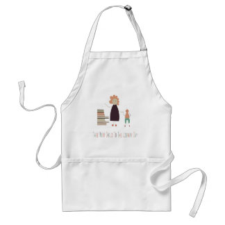 4th February - Take Your Child To The Library Day Standard Apron