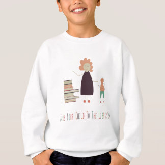 4th February - Take Your Child To The Library Day Sweatshirt