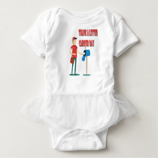 4th February - Thank A Letter Carrier Day Baby Bodysuit