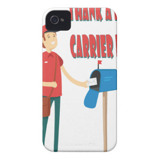 4th February - Thank A Letter Carrier Day iPhone 4 Case-Mate Case