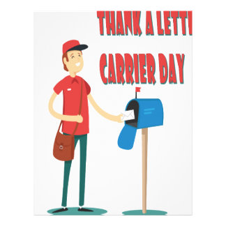 4th February - Thank A Letter Carrier Day Letterhead