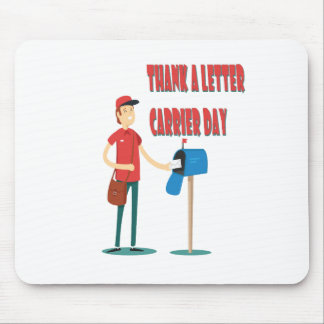 4th February - Thank A Letter Carrier Day Mouse Pad