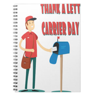 4th February - Thank A Letter Carrier Day Notebooks