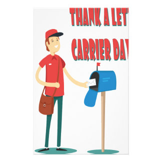 4th February - Thank A Letter Carrier Day Stationery