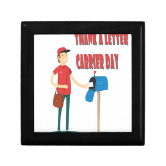 4th February - Thank A Letter Carrier Day Trinket Boxes