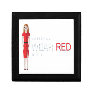 4th February - Wear Red Day - Appreciation Day Gift Box