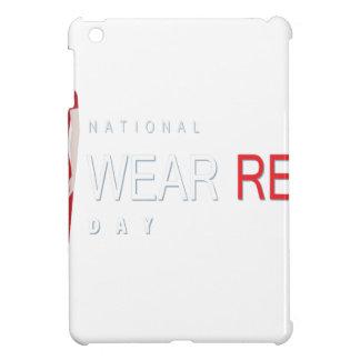 4th February - Wear Red Day - Appreciation Day iPad Mini Cover