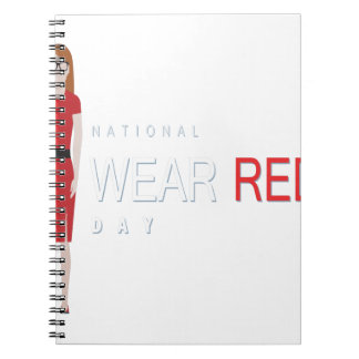 4th February - Wear Red Day - Appreciation Day Notebooks